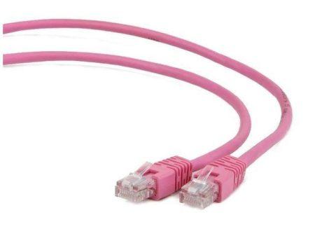 Gembird FTP Cat6 RJ45 patch kábel, 3m, rózsaszín
