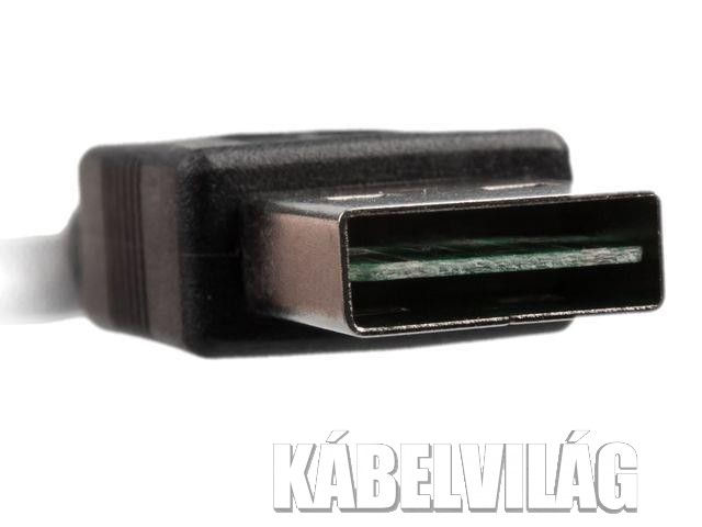 Gembird micro USB double-sided kábel 1m