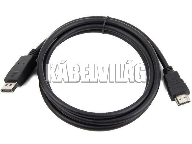 Gembird Display Port - HDMI kábel 3m