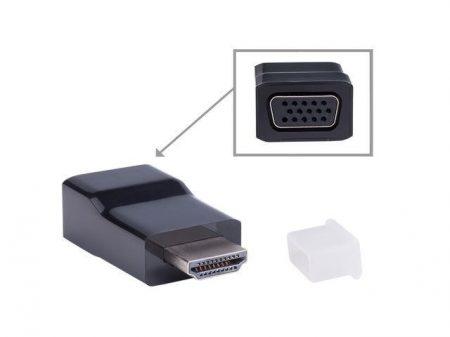 Gembird Passzív HDMI apa - VGA anya adapter