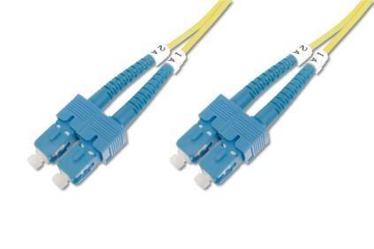Digitus üvegszálas optikai patch kábel , duplex SM 9/125 SC / SC 2m (DK-2922-02)