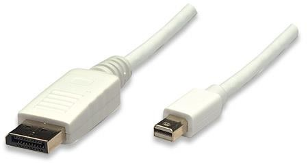 Manhattan DisplayPort - mini DP kábel 2m
