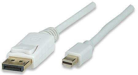 Manhattan DisplayPort - mini DP kábel 3m