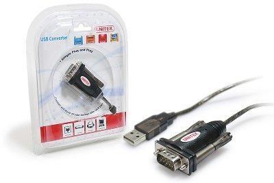 Unitek Adapter USB - Serial RS232 átalakító 1.4m (Y-105)