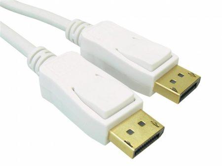 Sandberg Displayport kábel 2m fehér