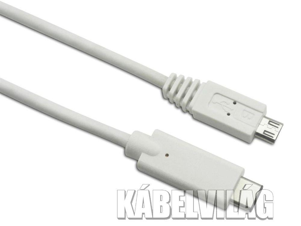 Sandberg USB-C 3.1 - micro USB kábel 1m (136-06)