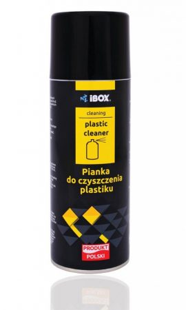 I-Box Tisztító hab műanyagokhoz 400ml
