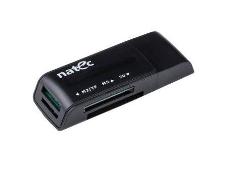 Natec mini All in One kártyaolvasó (SDHC, MMC, M2, Micro SD)