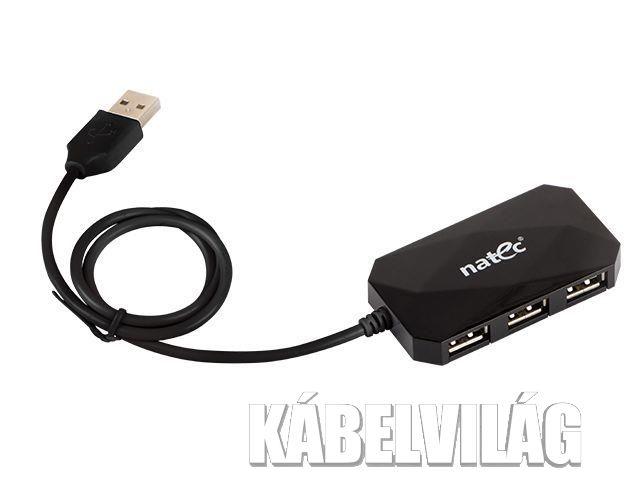 Natec passzív USB HUB 4 port