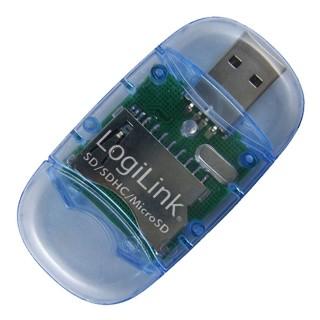 Logilink SD/MMC USB 2.0 kártyaolvasó (CR0015)