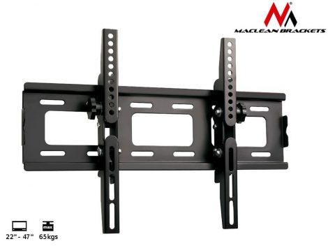 Maclean fix fali TV tartó állvány 22-47'' VESA 400X400 (MC-566)