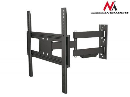 Maclean MC-647 Adjustable Wall Mounted TV bracket For Curved And Flat Screens