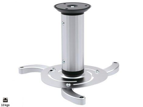 Maclean univerzális projektor tartó ezüst Max 10KG (MC-515)