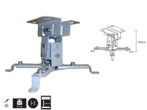 Maclean univerzális acél projektor tartó (MC-582)