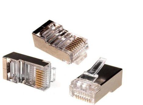 Maclean RJ45 FTP Cat5e csatlakozó dugó, 100db (MCTV-664)
