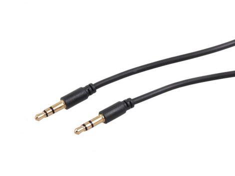 Maclean kábel 3.5mm jack to jack 5m fekete (MCTV-817)