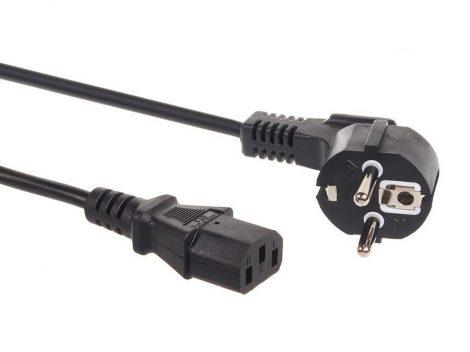 Maclean tápkábel 3 pin 5m plug EU (MCTV-801)