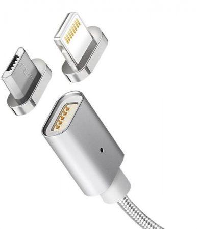 Maclean mágneses USB kábel micro usb fejjel (MCE160)