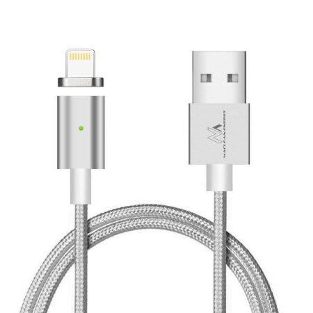Maclean mágneses USB kábel lightning fejjel (MCE161)