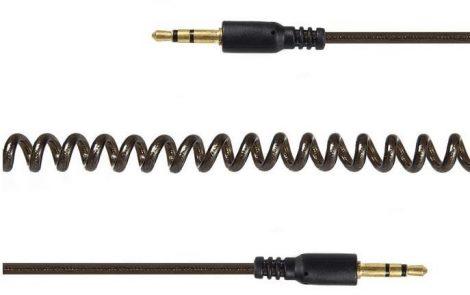 Gembird 3.5 Jack spirál audio kábel 1.8m (CCA-405-6)