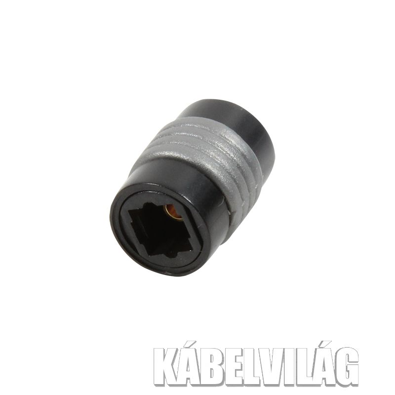 Logilink Optkai (Toslink) toldó adapter (CA1018)