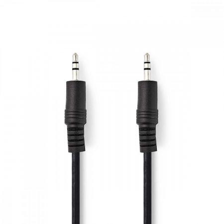 Nedis 3.5'' Jack sztereó kábel 5m (CAGP22000BK50)