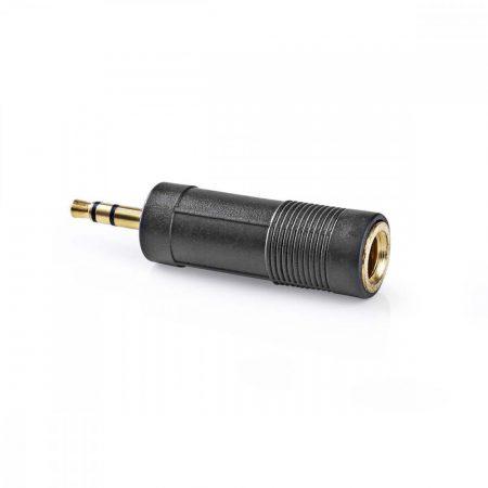Nedis Adapter 3.5mm sztereó dugó - 6.35mm sztereó aljzat (CAGP22935BKG)