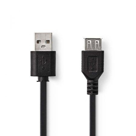 Nedis USB hosszabbító kábel 0.2m kábel (CCGP60010BK02)