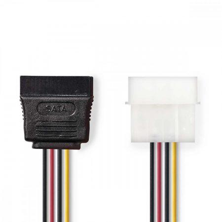 Nedis IDE - 1x SATA táp kábel (CCGP73500VA015)