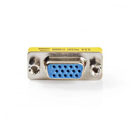 Nedis VGA dugó - VGA aljzat adapter (CCVC59812ME)