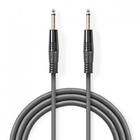 Nedis 6.35mm audio kábel 5m szürke (COTH23020GY50)