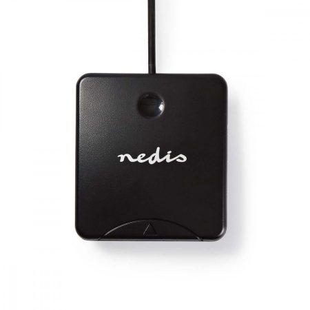 Nedis USB smart kártyaolvasó (CRDRU2SM1BK)