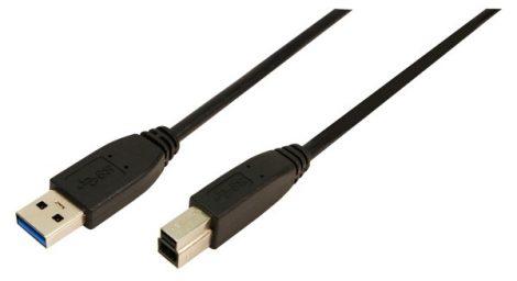 Logilink - USB 3.0 A - USB 3.0 B kábel 2m (CU0024)