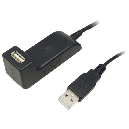 Logilink USB 2.0 hosszabbító dokkolóval (CU0036)