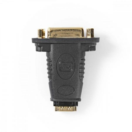 Nedis HDMI aljzat - DVI-D aljzat toldó adapter, aranyozott (CVGP34911BK)