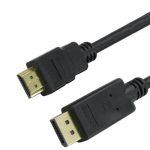 Trusty Displayport 1.1 - HDMI kábel 1.8m (KS-003-1.5M)