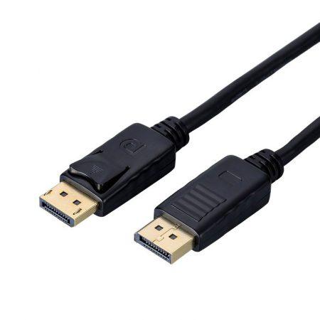 Trusty Displayport 1.2 apa - apa kábel 1.8m (KS-012-1.8m)