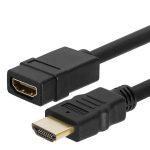 Trusty HDMI 1.4 4K 30HZ hosszabbító kábel 1m (KS-019-1M)