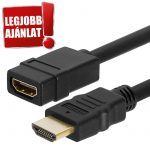 Trusty HDMI 1.4 4K 30HZ Aktív hosszabbító kábel 7.5m (KS-019A-7.5M)