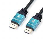 Trusty DisplayPort 1.4 8K 60Hz 1m kábel (KS-020-1M)