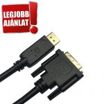 Trusty Displayport to DVI-D 144Hz kábel (KS-042-1.8M)