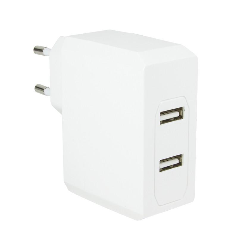 LogiLink hálózati 2 portos USB töltő 3.4A (PA0094)