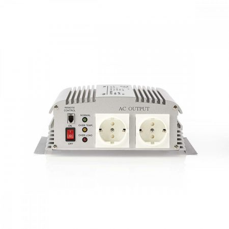 Nedis módosított szinusz 24V - 230V 1000W inverter (PIMS100024)