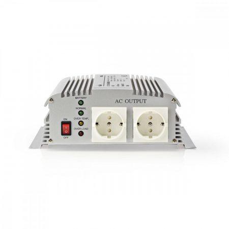 Nedis módosított szinusz 24V 230V 1000W inverter töltési funkcióval (PIMS1000C24)