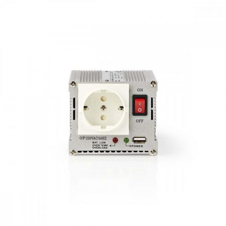 Nedis Módosított Szinusz 24 V - 230 V 300W inverter (PIMS30024)