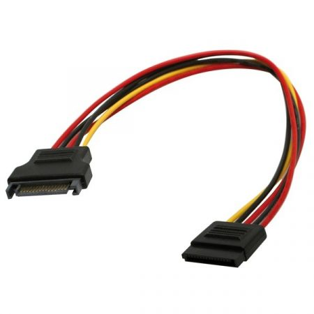 ROLINE Kábel SATA táp hosszabbító 0.3m (11.03.1042)