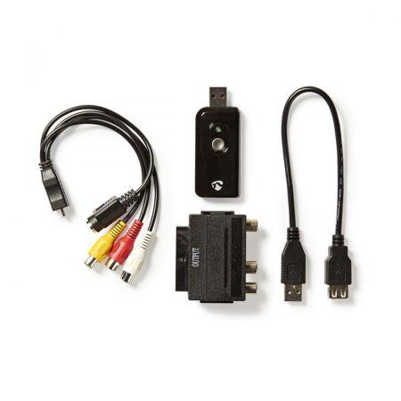 Nedis Video Grabber USB 2.0 (VGRRU100BK)