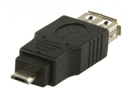 Valueline Adapter USB A aljzat - 5 tűs micro USB B dugó