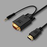 HDMI - VGA kábelek