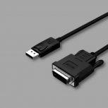 Displayport - DVI kábelek